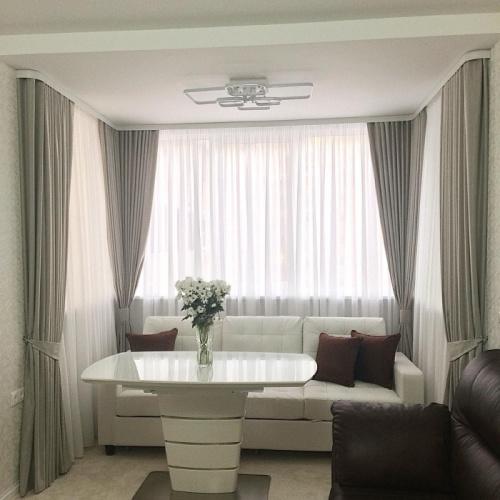 Какие шторы использовать в стиле минимализм?