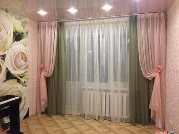 С чем должны сочетаться шторы?