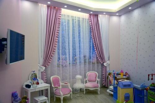Дизайн штор для квартиры персоны Х