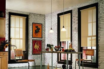 Стиль лофт: 112+ фотопримеров штор в разных комнатах