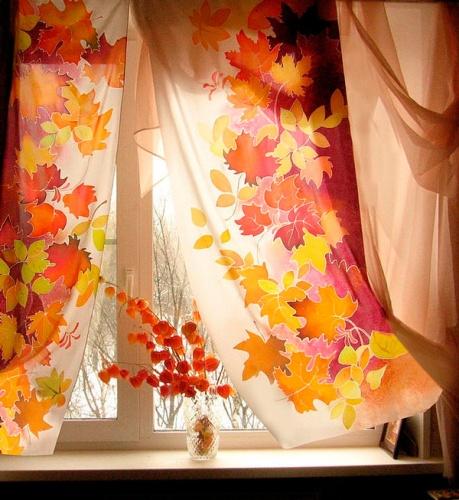 Выбираем шторы под «осеннее» настроение