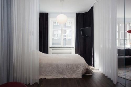 Советы по текстильному оформлению квартиры-студии
