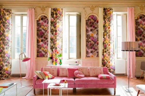 Применение интерьерных тканей в декорировании дома или квартиры