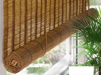 Бамбуковые шторы: где использовать, как крепить