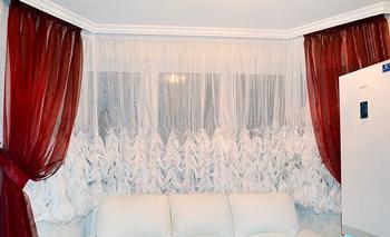 Ткань для французских штор – особенности выбора