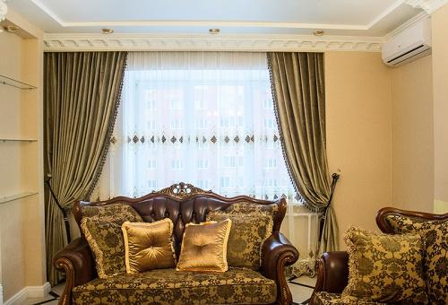 Какие шторы подойдут в гостиную