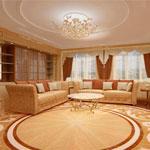Красивые шторы – достойное украшение для зала
