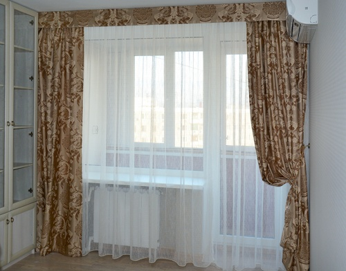 Как удлинить шторы: варианты и способы